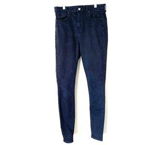 Top Shop Jamie Moto tall jeans